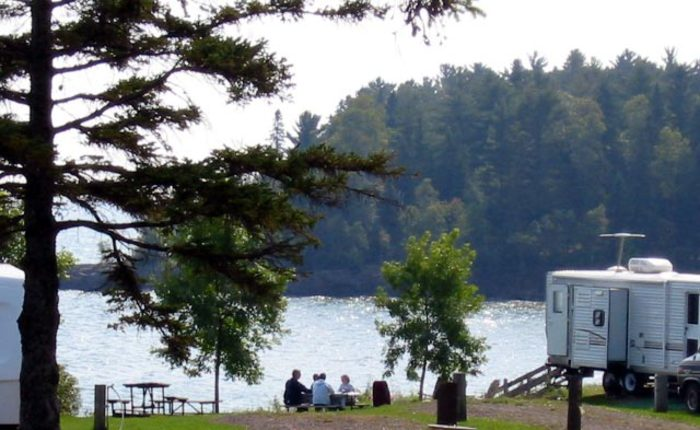 city of two harbors burlington bay campground in bookyoursite