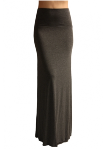 the best attitude promo code new products for Soldsie   Charcoal Grey Maxi Skirt