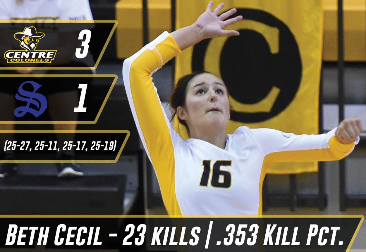 Centre Opens SAA Play with 3-1 Win Over Sewanee - Centre College
