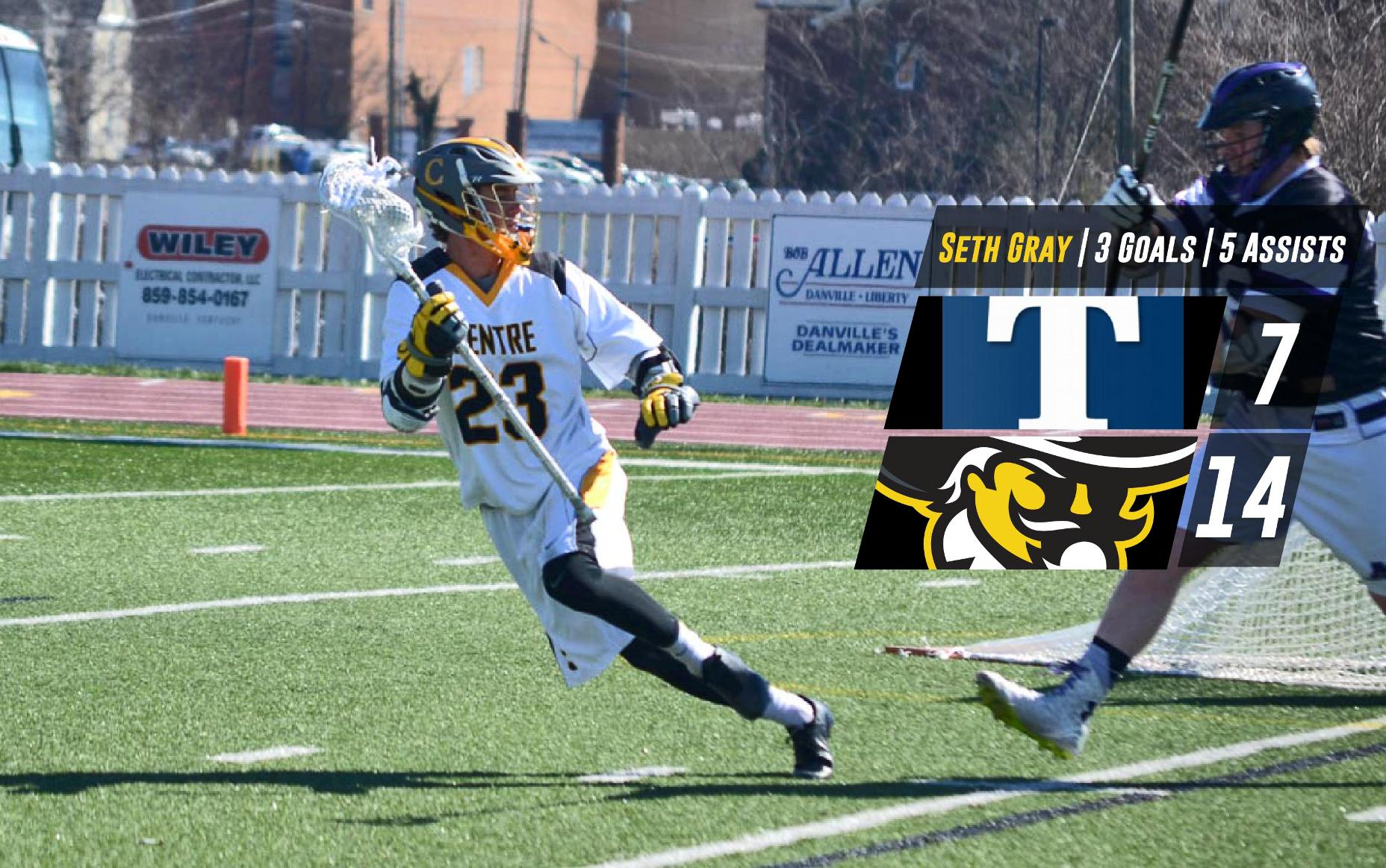 Strong Second Half Pushes Centre to 14-7 Win over Trine - Centre College