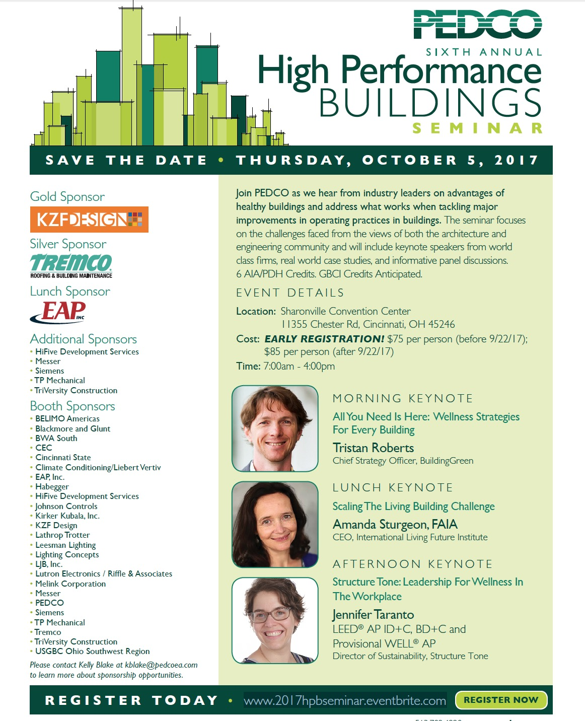 member news pedco 6th annual high performance buildings seminar set