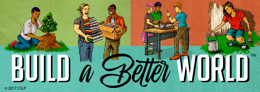 Image result for build a better world summer reading