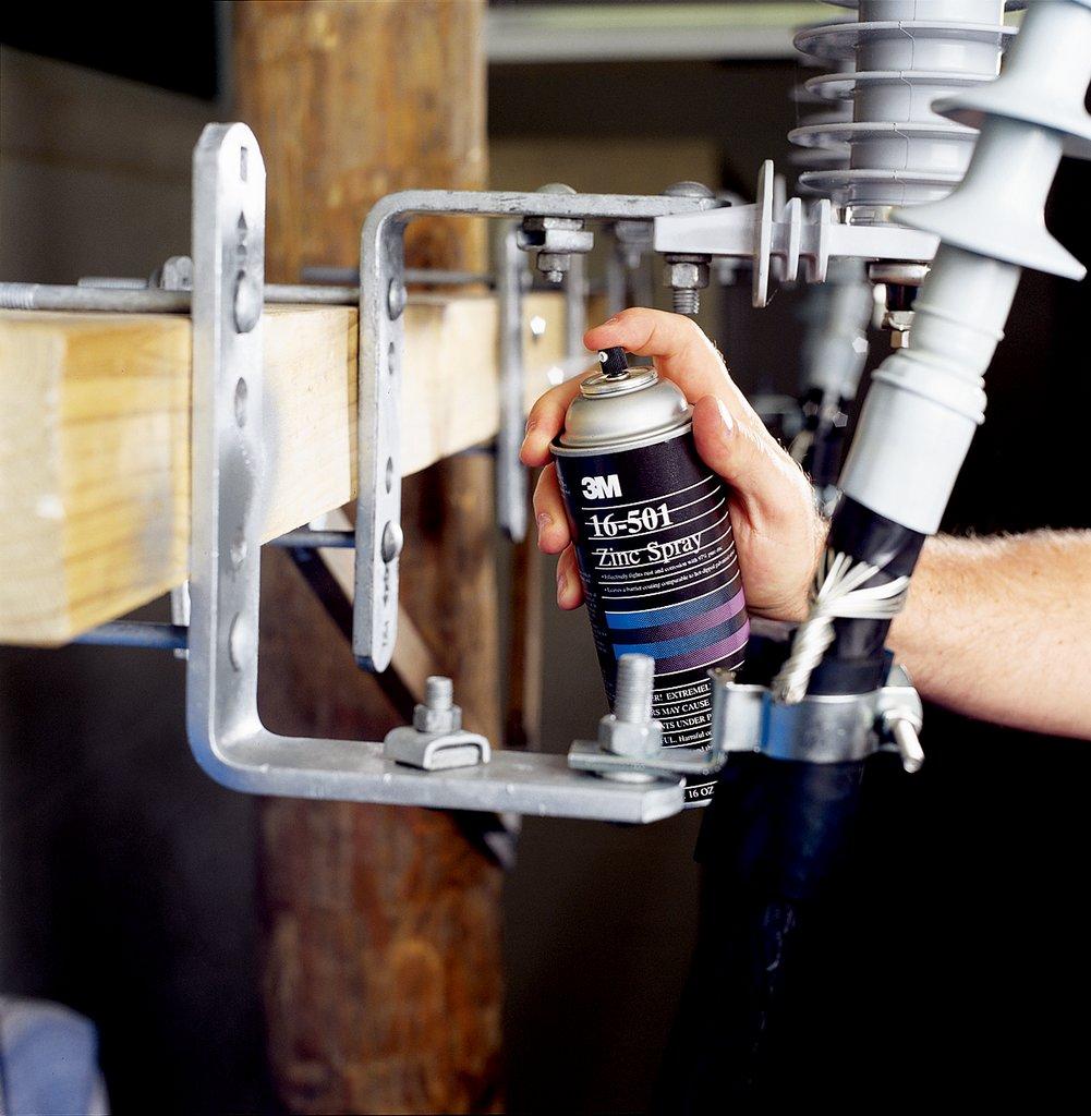 3M 16-501 Zinc Spray;  Inhibit Rust & Corrosion with 97% Pure Zinc