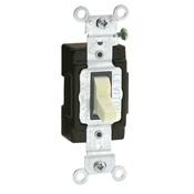 Leviton 5501-LHI 15 Amp Single-Pole AC Quiet Switch