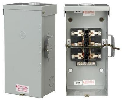 GE Distribution TC10324R  200 Amp 240-Volt Non-Fused Emergency Power Transfer Switch