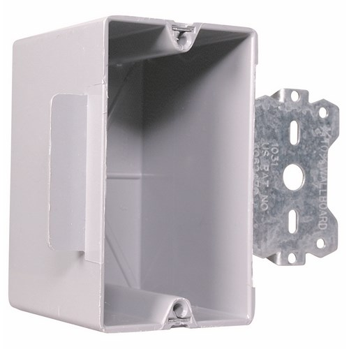 Pass & Seymour S1-18-S50 1 Gang Plastic Outlet Box