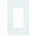 Lutron CW-1-WH Designer Claro® 1-Gang GFCI Decorator Wallplate; Device Mount, Thermoplastic, White