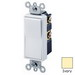 Leviton 5604-2I Decora® AC Quiet 4-Way Switch; 2-Pole, 120/277 Volt AC, 15 Amp, Ivory