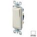 Leviton 5611-2W Decora® Illuminated Off AC Quiet Switch; 1-Pole, 120/277 Volt AC, 15 Amp, White
