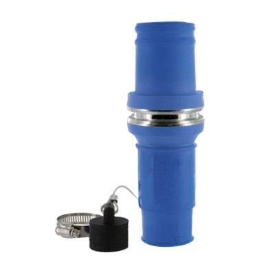 Leviton 49MSL-B Rhino-Hide® Single Pole Male Connector Insulator; 1000 Volt, 1135 Amp, Blue
