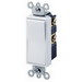 Leviton 5604-2GY Decora® AC Quiet 4-Way Switch; 2-Pole, 120/277 Volt AC, 15 Amp, Gray