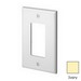 Leviton PJ26-I Decora® 1-Gang Midway-Size GFCI Decorator Wallplate; Device Mount, Thermoplastic Nylon, Ivory