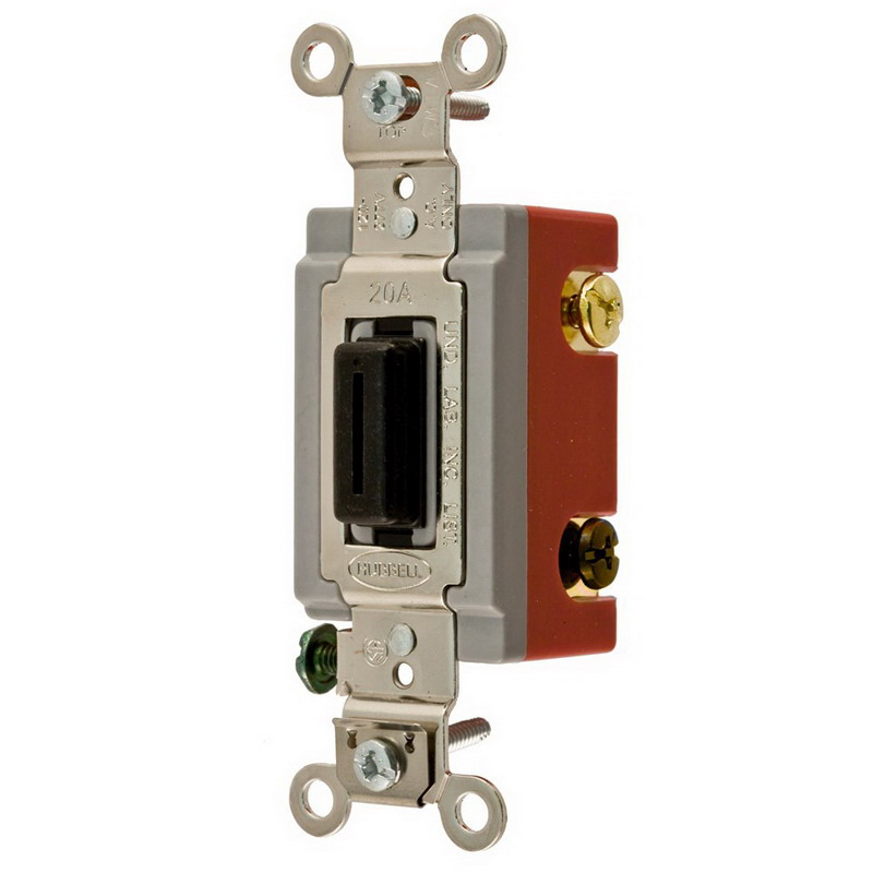 Hubbell Wiring HBL1224L Two Position AC 4-Way Locking ...