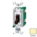 Hubbell Wiring HBL3032I Heavy Duty Grade Two Position Toggle Switch; 2-Pole, 120 - 277 Volt AC, 30 Amp, Ivory