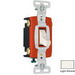 Pass & Seymour CSB20AC4-LA Specfication Grade Construction 4-Way Toggle Switch; 4-Pole, 120/277 Volt AC, 20 Amp, Light Almond
