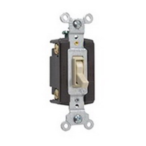Pass & Seymour 664-IG tradeMaster® 4-Way Toggle Switch; 4-Pole, 120 Volt AC, 15 Amp, Ivory