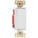 Pass & Seymour 2621-W Specification Grade Paddle Decorator Switch; 1-Pole, 120/277 Volt AC, 15 Amp, White