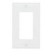 Pass & Seymour SP26-W 1-Gang Standard-Size GFCI Decorator Wallplate; Wall Mount, Thermoplastic, White