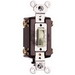Pass & Seymour 664-LAG tradeMaster® 4-Way Toggle Switch; 4-Pole, 120 Volt AC, 15 Amp, Light Almond