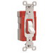 Pass & Seymour PT20AC3-W PlugTail™ Specification Grade 3-Way Toggle Switch; 1-Pole, 120/277 Volt AC, 20 Amp, White