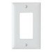 Pass & Seymour TP26-W tradeMaster® 1-Gang Standard-Size GFCI Decorator Wallplate; Wall Mount, Nylon, White