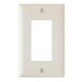 Pass & Seymour TP26-LA tradeMaster® 1-Gang Standard-Size GFCI Decorator Wallplate; Wall Mount, Nylon, Light Almond
