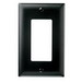 Pass & Seymour TP26-BK tradeMaster® 1-Gang Standard-Size GFCI Decorator Wallplate; Wall Mount, Nylon, Black