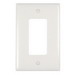 Pass & Seymour TPJ26-W tradeMaster® 1-Gang Jumbo-Size Decorator Wallplate; Wall Mount, Nylon, White