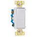 Pass & Seymour TM874-W tradeMaster® 4-Way Decorator Switch; 120/277 Volt AC, 15 Amp, White