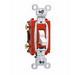 Pass & Seymour CS20AC3-W 3-Way Toggle Switch; 3-Pole, 120/277 Volt AC, 20 Amp, White