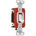 Pass & Seymour CSB20AC4-W Specfication Grade Construction 4-Way Toggle Switch; 4-Pole, 120/277 Volt AC, 20 Amp, White