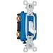 Pass & Seymour CS15AC3-W Heavy Duty Grade 3-Way Toggle Switch; 3-Pole, 120/277 Volt AC, 15 Amp, White