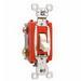 Pass & Seymour PS20AC3-ISL Extra Heavy Duty Grade 3-Way Toggle Switch; 1-Pole, 120/277 Volt AC, 20 Amp, Ivory