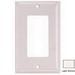 Hubbell Wiring NP262LA Netselect® tradeSELECT® 2-Gang Standard-Size GFCI Decorator Face Plate; Screw Mount, Nylon, Light Almond