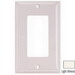 Hubbell Wiring NP263LA Netselect® tradeSELECT® 3-Gang Standard-Size GFCI Decorator Face Plate; Screw Mount, Nylon, Light Almond