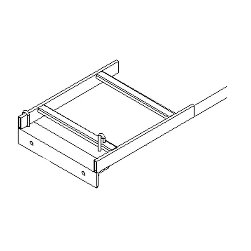 central steel fabricators jba4201 cable rack to wall angle