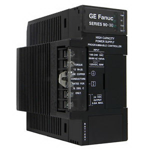 GE Fanuc IC693PWR330 High Capacity Power Supply; 120/240 Volt AC and 125 Volt DC, 30 Watt, For 90 - 30 Series Programmable Controllers