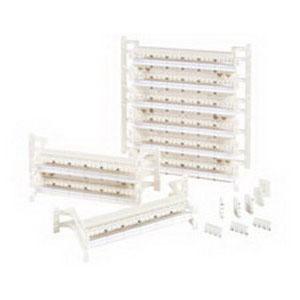 Optical C410 Category 5e 110 C-Connector Block; C4 Pairs, Plastic, Ivory