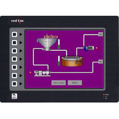 Red Lion G310S210 Operator Interface; 10.400 Inch Display, 24 Volt DC