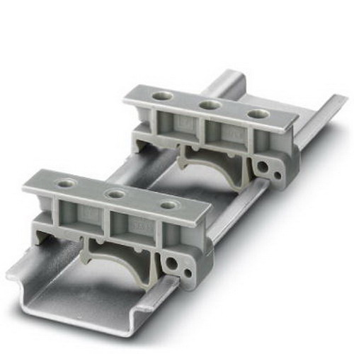 Phoenix Contact Phoenix 1201578 USA 10 Rail Adapter; 42.6 mm Length x 10 mm Width x 19 mm Height, Gray, DIN Rail Mount