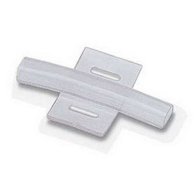 Phoenix 1013957 PAB-KTL Unlabeled Marker Carrier; 23 mm x 4 mm Lettering, PVC, Transparent