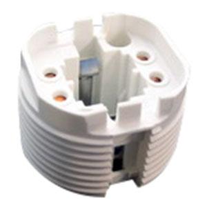 Universal 507992 Rotary Locking Fluorescent Lampholder  26/32/42 Watt  PBT  Vertical