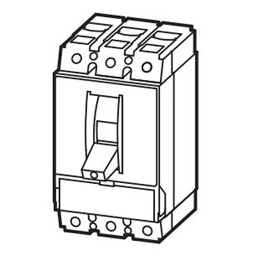 """""Eaton / Cutler Hammer NZMB2-AF175-BT-NA Circuit Breaker 175 Amp, 3 Pole,"""""" 86038"