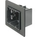 Arlington F102F One-Box™ 2-Gang Vapor Box; 3.510 Inch Depth, 42 Cubic-Inch, Screw-On Mount