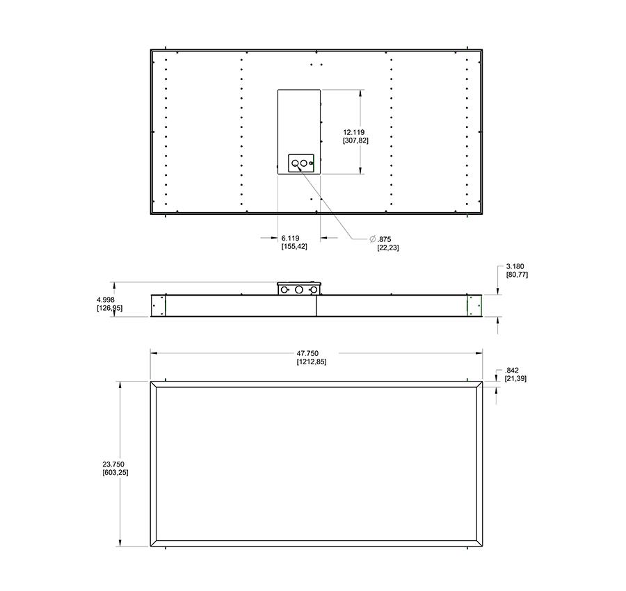 rab lighting panel2x4 44n troffers crescent electric. Black Bedroom Furniture Sets. Home Design Ideas