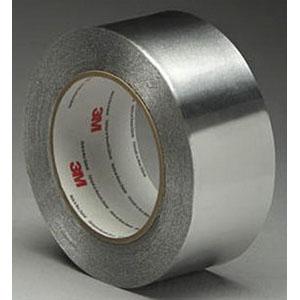 3M 425-2X60YD-BOX 425 Model Foil Tape; 60 yard x 2 Inch, Aluminum Foil/Acrylic Adhesive, Silver