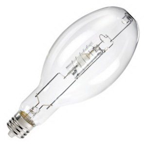 Eiko MP400/BU/P Metal Halide Lamp 400 Watt  4000K  65 CRI  Mogul with Long Prong EX39 Base  20000 Hour Life  Clear