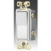 Cooper Wiring 7631W-BOX ArrowHart™ Decorator Specification Grade Lighted AC Quiet Switch; 1 Pole, 120/277 Volt AC, 20 Amp, White