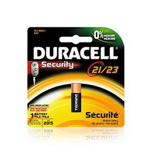 Duracell MN21B2PK09 Electronic Battery; 12 Volt, 33 Milli-Amp-Hour