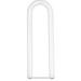Satco S6682 U-Bend Fluorescent Lamp; 34 Watt, 3000K, 70 CRI, Double-End G13 Medium 2-Pin Base, 18000 Hour Life, Cool White